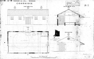 N.E.R Proposed New Goods Warehouse Corbridge [N.D]