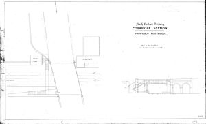 North Eastern Railway Corbridge Station - Proposed Footbridge [N.D]