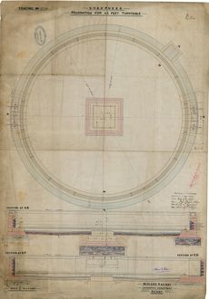 Sharpness Foundation for 46feet Turntable [1896]