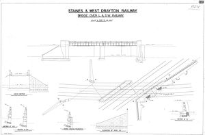 <b>Staines and West Drayton Railway</b><br>Selection of 1 items
