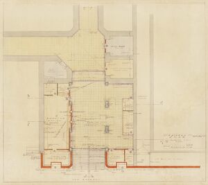 Stratford Station. London & North Eastern Railway. Stratford Station Booking Hall Plan