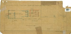 Alverstone Station - Eighth Scale Drawings showing proposed additions [1926]