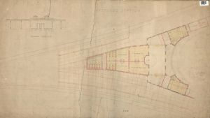Hastings Station - Section and Plan of Station [c1850]