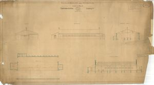 Wilts. Somerset & Weymouth Railway - Trowbridge Goods Shed [1848]