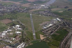 Aerial: Southend Airport from 3,000 feet