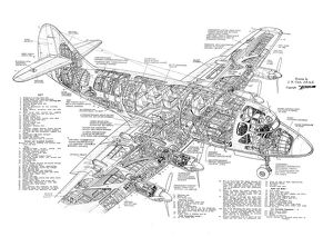 Armstrong Whitworth Apollo Cutaway Poster