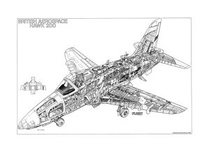 BAe Hawk 200 Cutaway Drawing