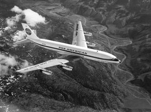 Boeing 707-120 first 707 for Pan-Am