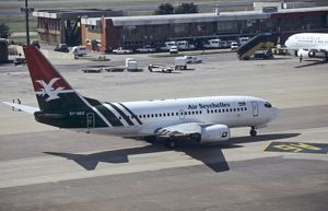 Boeing 737-700 (7Q8) Air Seychelles at Joburg Airport South Africa