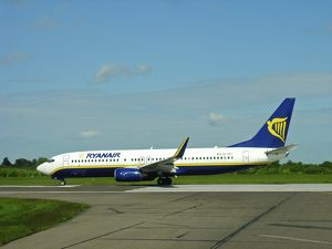 Boeing 737-800 Ryanair at Stansted Airport
