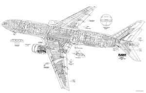 Civil Aviation 1949-Present Cutaways (Selection of 122 Items)