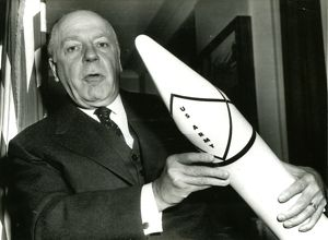 Brucker holding model of the Jupiter-C missile