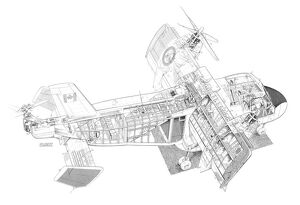 Experimental Aircraft Cutaways (Selection of 31 Items)