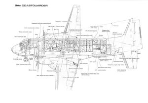 Coastguarder 748 Cutaway Drawing