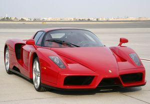 Ferrari car at Dubai Airshow 2005