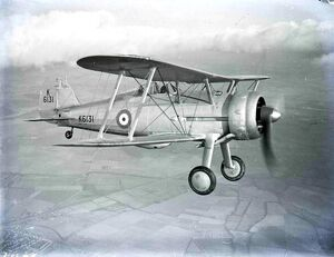 he Gloster Gladiator (or Gloster SS.37) was a British-built biplane fighter, used