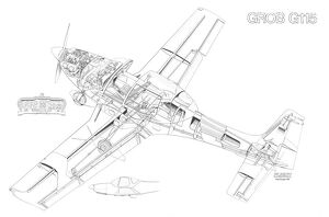 General Aviation Cutaways (Selection of 115 Items)