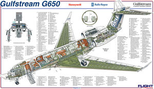 <b>Gulfstream Cutaway</b><br>Selection of 15 items
