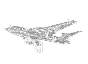 Handley Page Victor B1 Cutaway Drawing