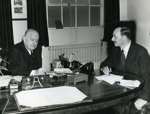 Lord Breswick and Handley Page