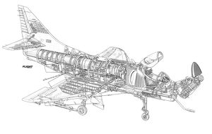 RNZAF/Smiths Industries A-2 Update Cutaway Drawing