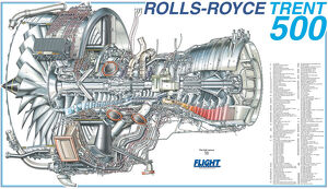 <b>Rolls Royce Cutaway</b><br>Selection of 21 items