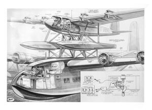 Short Mayo Composite Cutaway Drawing