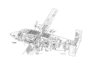 Short SD-330 Cutaway Drawing