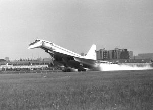 Tupolev TU144 at Paris Airshow 1973 which crashed later on