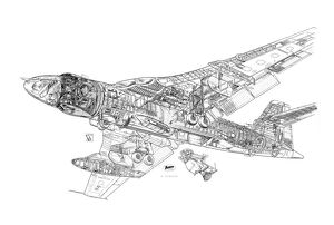 Vickers Valiant BMk1 Cutaway Drawing