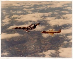 Vickers VC10 tanker and a Nimrod