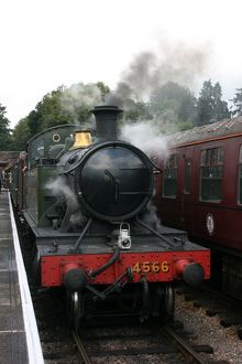 Bishops Lydeard station, West Somerset Railway, UK