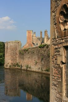 Bishops Palace, Wells Cathedral, Wells, Somerset, UK
