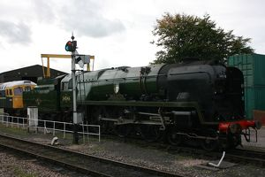 Braunton loco at Williton, Somerset