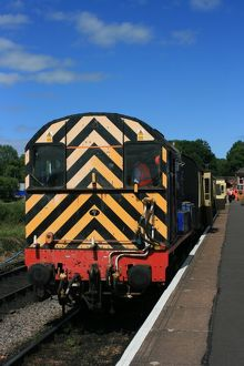 Diesel at Bishops Lydeard, Somerset