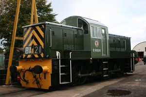 Diesel at Williton station, Somerset