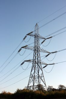 Electricity pylon at Wendover
