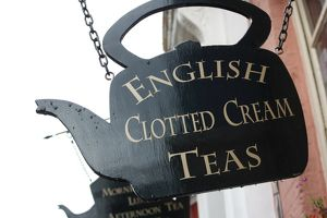 English Clotted Cream Tea sign