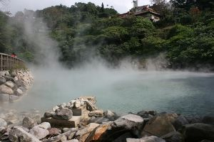 Geothermal Valley, (Hell Valley), Beitou, Taipei County, Taiwan