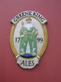 Greene King sign
