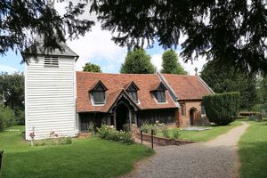 Greensted Church, Ongar, Essex, UK