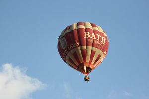 Hot air ballon, Bath, Somerset, UK
