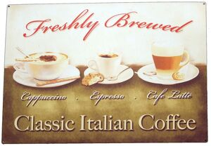Italian coffee sign