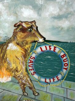 Life Buoy soap vintage advertising poster