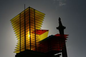 Model for a Hotel, Thomas Schutte's sculpture on the Forth Plinth, Trafalgar Square