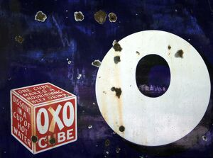 Oxo cube poster