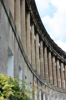 Royal Crescent, Bath, Somerset, UK