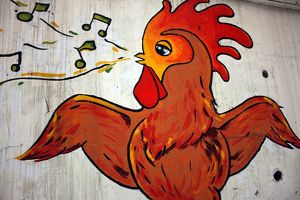 The singing chicken