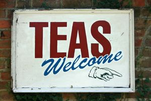 Teas Welcome sign