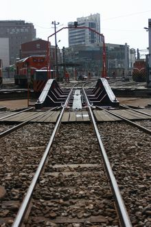 Turntable at Changhua Roundhouse, Taiwan